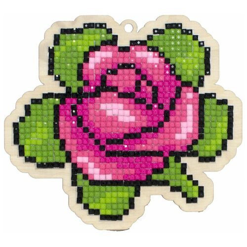Мозаика на дереве Гранни Ароматная роза , Алмазная мозаика  - купить со скидкой