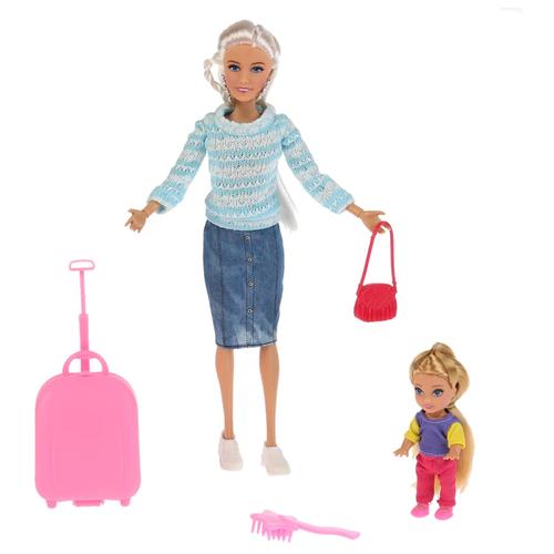 Набор кукол София с дочкой путешественницы 29 см 66509-S-BB