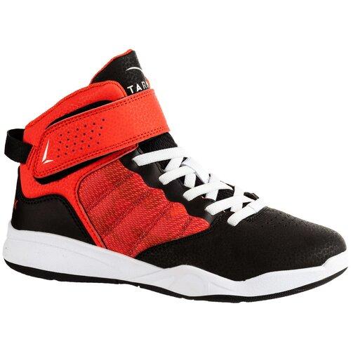 Кроссовки детские баскетбольные SE100, размер: 33, цвет: Красный TARMAK Х Декатлон