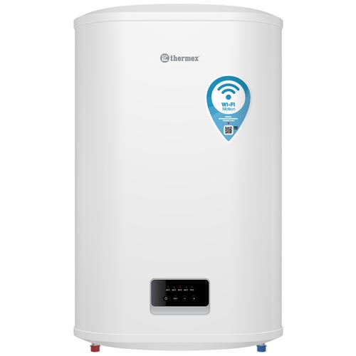 Накопительный электрический водонагреватель Thermex Optima 80 Wi-Fi, белый электрический накопительный водонагреватель thermex thermex optima 30 wi fi