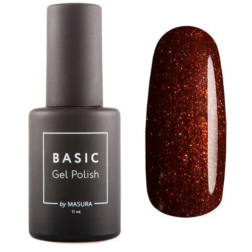 Гель-лак для ногтей Masura Basic, 11 мл, Пряный Сироп гель лак для ногтей masura basic 11 мл саргассово море