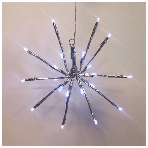 Гирлянда Sh Lights 20 см TB20, 20 ламп, белые диоды/прозрачный провод