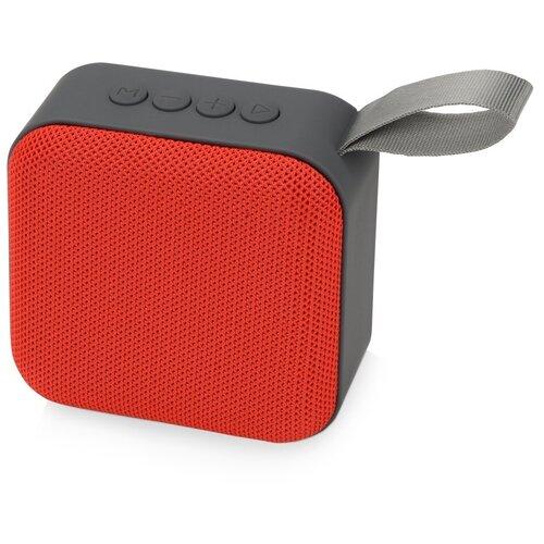 Портативная акустика Oasis Otto, красный/серый портативная акустика oasis ring красный