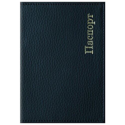 Обложка для паспорта OfficeSpace Комфорт, черный