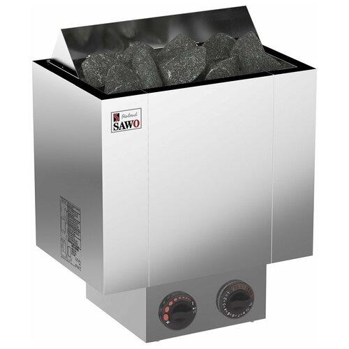 Электрическая банная печь Sawo Nordex NRX-90NB-Z серебристый