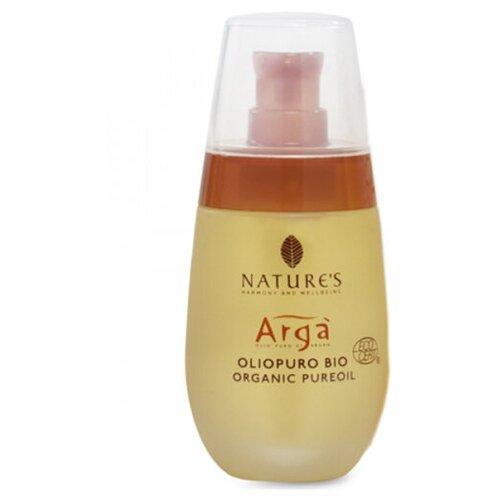 Купить Масло Арганы с жирными кислотами. витаминами и антиоксидантами. для ухода за лицом. телом и волосами - Nature's - Arga Pure Argan Organic Oil 50 мл.