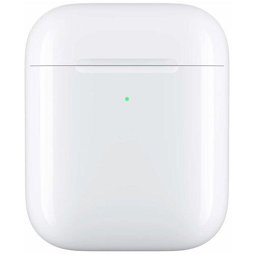 Чехол с аккумулятором Apple с беспроводной зарядкой для AirPods white