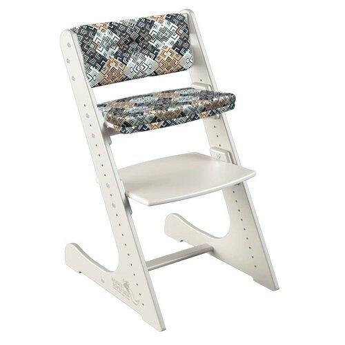 Фото - Растущий стул Конёк Горбунёк Комфорт цвет Слоновая кость в комплекте с подушками Лабиринт стульчики для кормления конёк горбунёк цветной однотонный