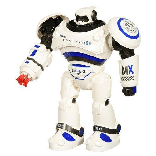Фото - CraZon Радиоуправляемый интерактивный робот CraZon (стреляет присосками) - ZYA-A2721-1 радиоуправляемые игрушки 1 toy интерактивный радиоуправляемый щенок робот дружок