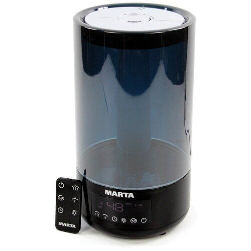 Увлажнитель воздуха MARTA MT-2697, черный жемчуг