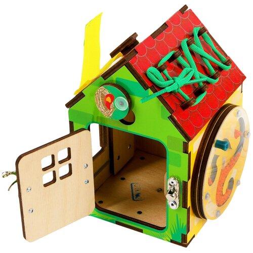 Бизиборд PAREMO Бизи-Дом PE720-201 разноцветный