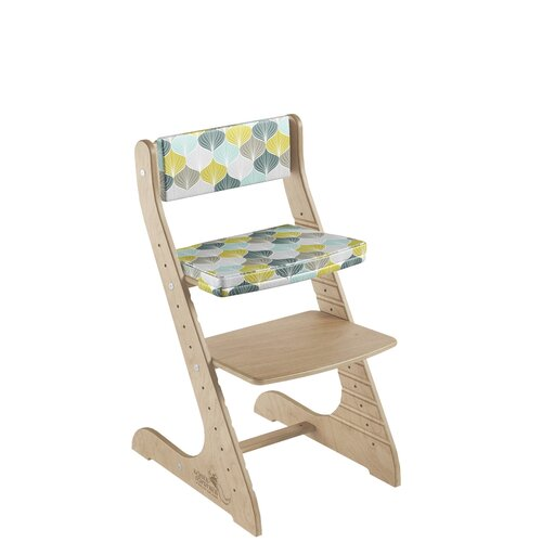 Фото - Комплект растущий стул и подушки Конёк Горбунёк СТАНДАРТ, цвет Сандал/Листья стульчики для кормления конёк горбунёк цветной однотонный