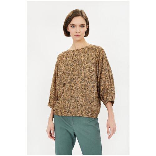 Фото - Блуза Baon, размер S, beige printed шорты baon размер xxl 52 dark beige