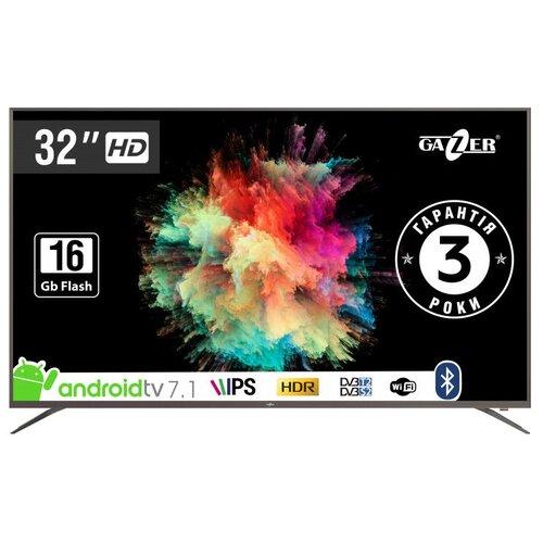 """Телевизор GAZER TV32-HS2G 32"""" графит"""