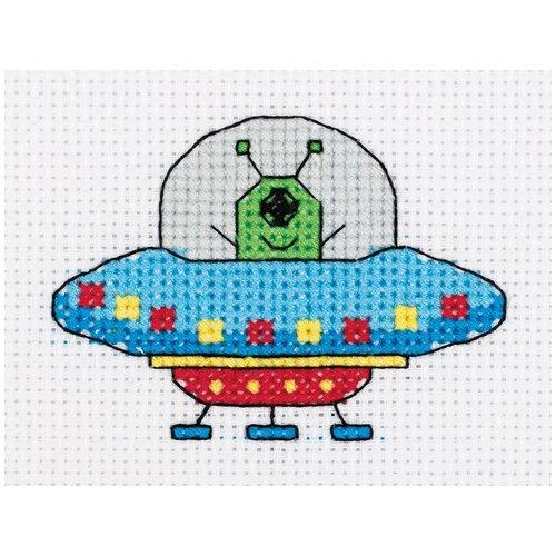 Набор для вышивания KLART НЛО 10x8 см