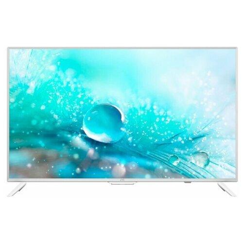 Фото - Телевизор JVC LT-24M485 24 (2019), белый телевизор 24 jvc lt 24m485 черный 1366x768 60 гц usb