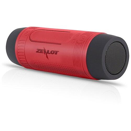 Портативная акустика Zealot S1, красный портативная акустика sven ps 68 черный