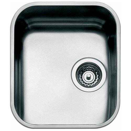 Врезная кухонная мойка 36 см Smeg UM34 нержавеющая сталь/матовая врезная кухонная мойка 79 см smeg sp791s 2 нержавеющая сталь матовая