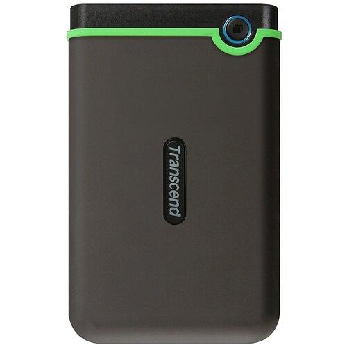 Внешний HDD Transcend StoreJet 25M3 500 GB стальной серый