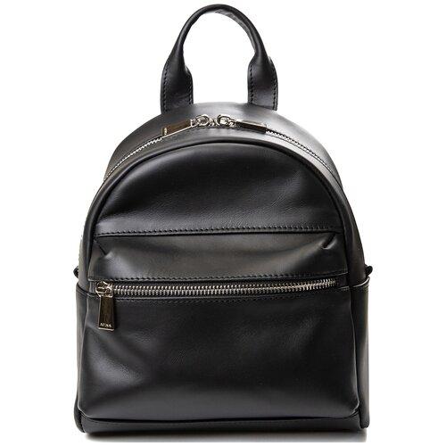 Рюкзак Afina 265, натуральная кожа, черный