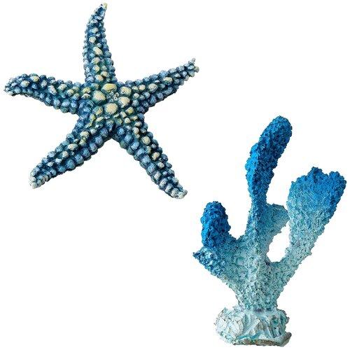 Декорации для оформления аквариума Marvelous Aqva набор, N-40