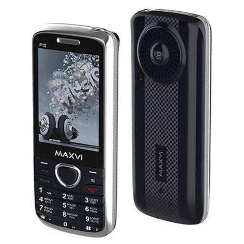 Телефон MAXVI P10 темно-синий