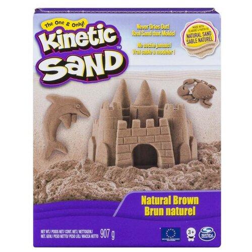 Кинетический песок Kinetic Sand (6037507), natural brown, 0.91 кг, картонная пачка