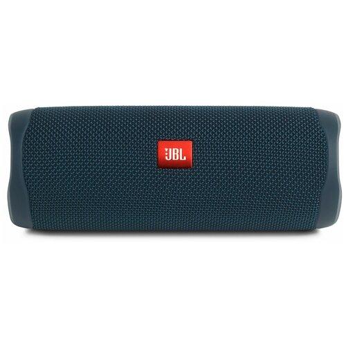 Портативная акустика JBL Flip 5, 20 Вт, blue