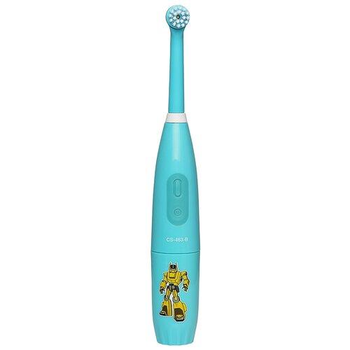 Электрическая зубная щетка CS Medica CS-463-B Kids голубой
