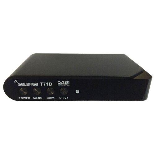 Фото - TV-тюнер Selenga T71D черный tv тюнер selenga t30 черный