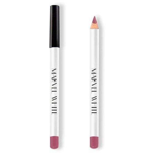 Marvel Cosmetics White Карандаш для губ 427 MOUSTIER (Лиловое Саше) marvel cosmetics карандаш для губ 337 rose quartz