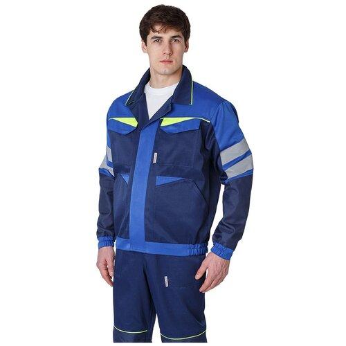 Фото - Куртка укороченная мужская PROFLINE BASE, т.синий/васильковый (60-62; 170-176) сорочка мужская vester 68814 41s 170 176