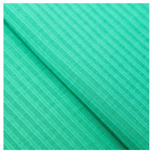 Купить Ткань Арт Узор для пэчворка трикотажная 50 × 50 см мята, Ткани