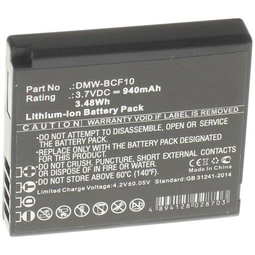 Аккумулятор iBatt iB-U1-F220 940mAh для Panasonic Lumix DMC-FS10, Lumix DMC-F3, Lumix DMC-FT1, Lumix DMC-F2, Lumix DMC-FT4, Lumix DMC-FS62, Lumix DMC-FS42, Lumix DMC-FS11, Lumix DMC-FS4, Lumix DMC-FP8,