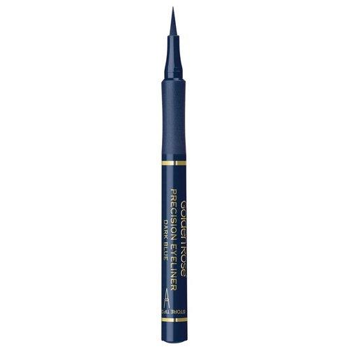 Golden Rose Подводка для глаз Precision Eyeliner, оттенок темно-синий