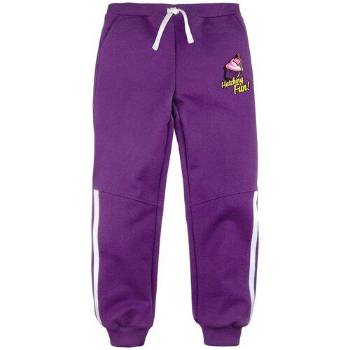 Спортивные брюки Bossa Nova размер 98, фиолетовый