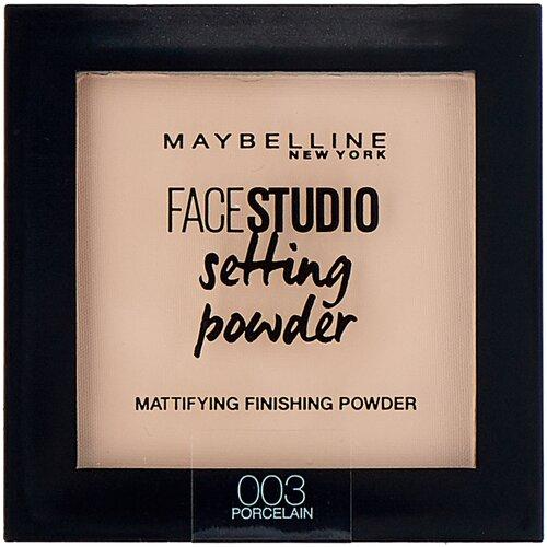 Maybelline New York Face Studio пудра компактная Setting Powder матирующая фиксирующая 003 porcelain матирующая фиксирующая пудра для лица maybelline new york face studio setting powder 9 мл