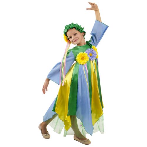 Купить Костюм Вестифика Весна (102 040), голубой/желтый/зеленый, размер 152-158, Карнавальные костюмы