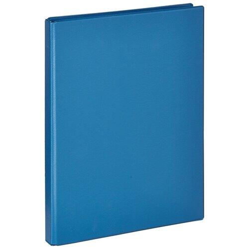 Фото - Bantex Папка на 4-х кольцах A4, ПВХ, 25 мм синий brauberg папка на 2 х кольцах a4 картон пвх 35 мм синий