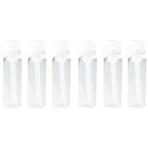 Пробники (фиолки) Aromaprovokator для духов 0,5 ml крышка белая набор 1100 шт