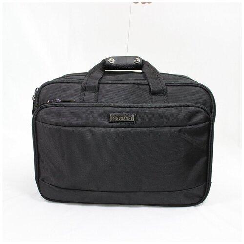 Мужская сумка-трансформер из текстиля Numanni 882 чёрная