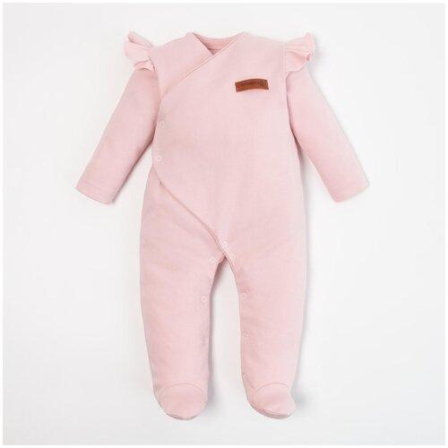 Купить Комбинезон Крошка Я, размер 74-80, розовый, Комбинезоны