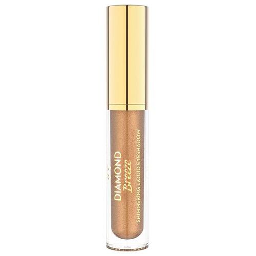 Golden Rose Тени для век Diamond Breeze Shimmering Liquid Eyeshadow 02 iconic bronze