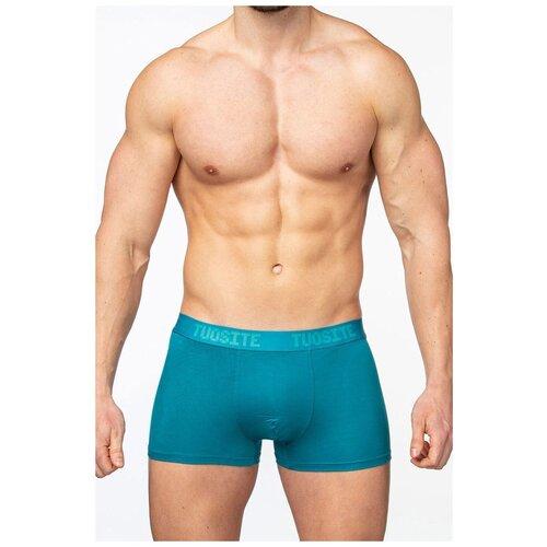 Tuosite Трусы боксеры с классической посадкой, размер XL, голубой