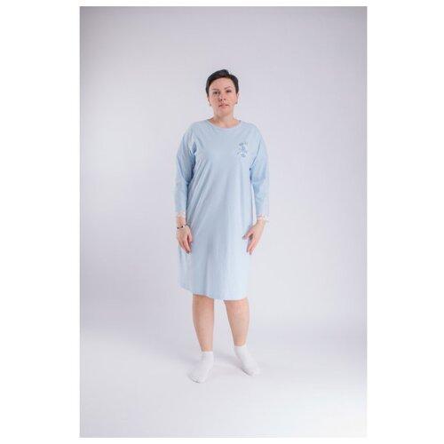 ночные сорочки pastilla ночная сорочка ваниль цвет голубой xl Сорочка женская ночная Свiтанак,голубой,158,164-88-94