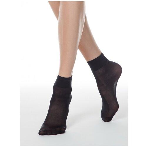Капроновые носки Conte Elegant Tension Soft 40 14С-55СП, размер 23-25, nero