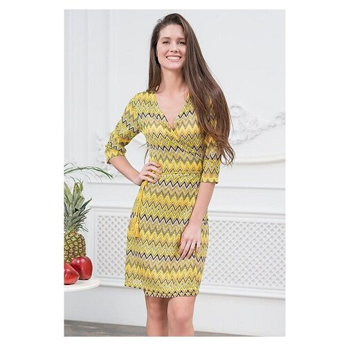 Пляжное платье MIA-AMORE Missoni, размер S/M, желтый