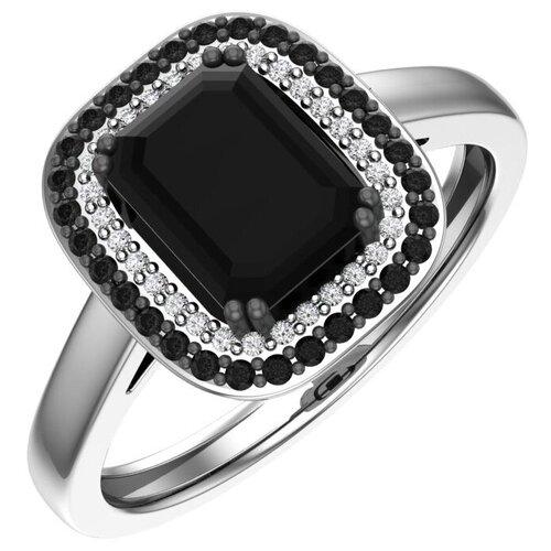 POKROVSKY Серебряное кольцо Моника 1100939-04345, размер 18