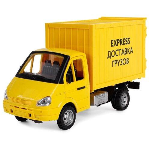 Фургон Play Smart Доставка грузов (9077-E) 1:27, 20.5 см, желтый