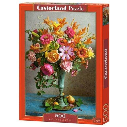 Пазл Castorland 500 деталей: Осенние цветы